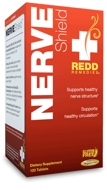 Nerve Shield box by REDD Remedies