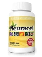 Neuracel bottle front