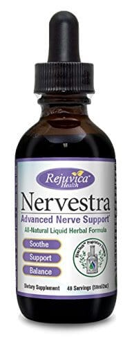 Single bottle of Nervestra liquid supplement