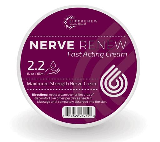 Nerve Renew Fast Acting Cream