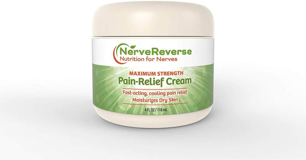 NerveReverse nutrition for nerves - Maximum strength Pain-Relief cream